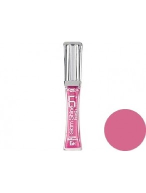 Gloss L'OREAL Glam Shine Brillance 6H ALWAYS PINK 102